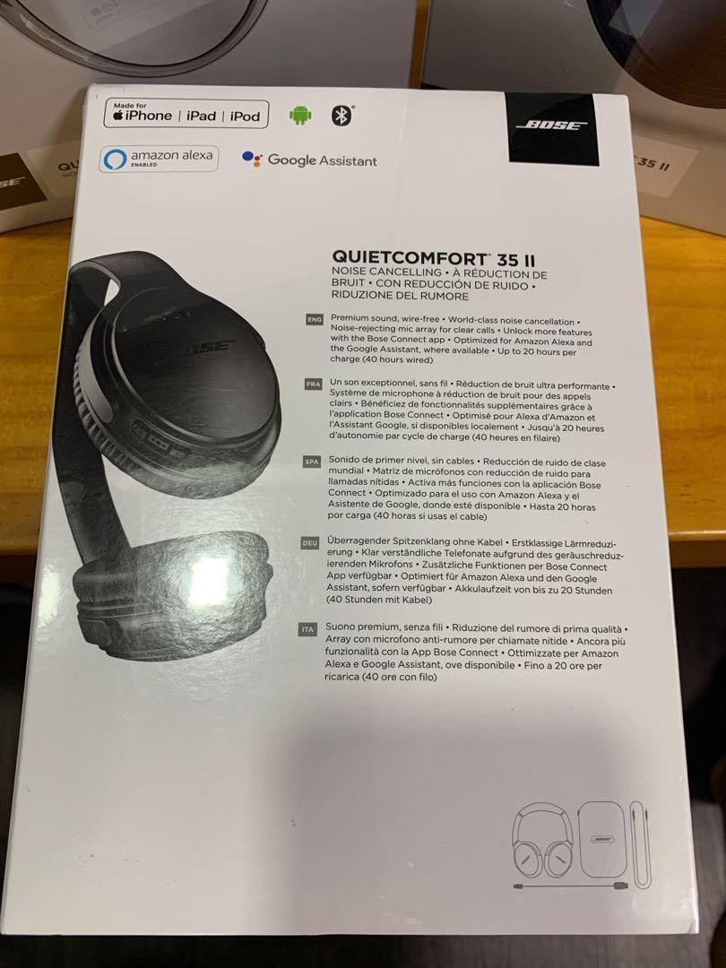 QC35II Bose quietcomfort 35II QC35II QC35 ii