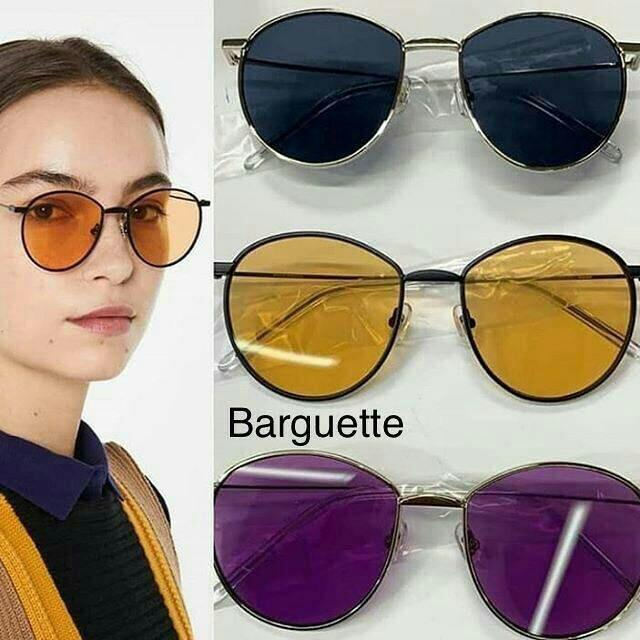 READY Gentle Monster Sunnies • Z1 One Grey • Z1 One Gold • Barguette ( navy yellow purple )Complete Box