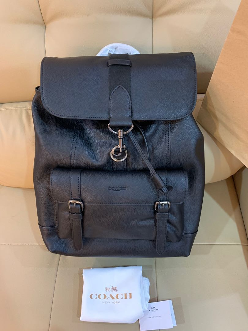 b936b70861f9 Ready Stock Authentic coach men backpack 86929 29523 Bleecker backpack,  Men's Fashion, Bags & Wallets, Backpacks on Carousell