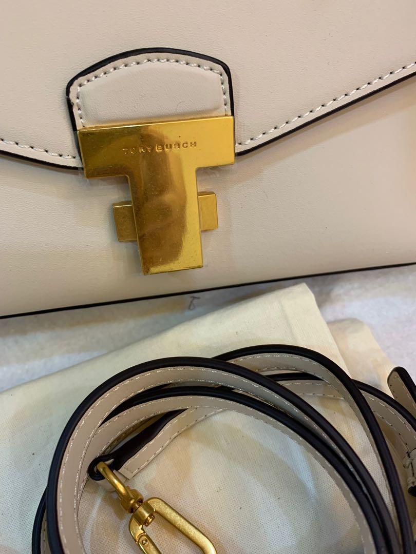 Ready Stock Authentic Tory Burch Juliette totes top handle totes bag crossbody bag