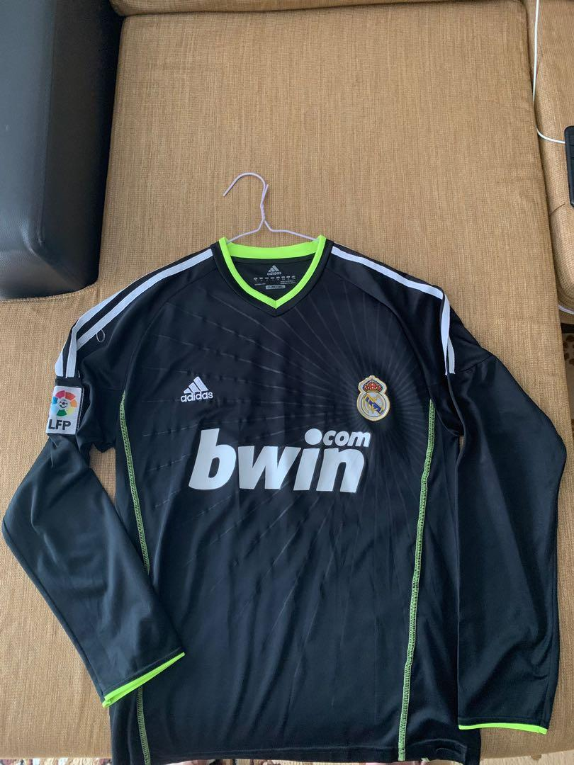 promo code 25928 95a9a Real Madrid Cristiano Ronaldo Long sleeve Jersey, Sports ...