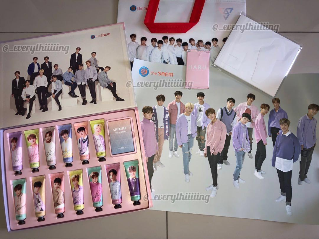 SEVENTEEN x THE SAEM HANDCREAM SET