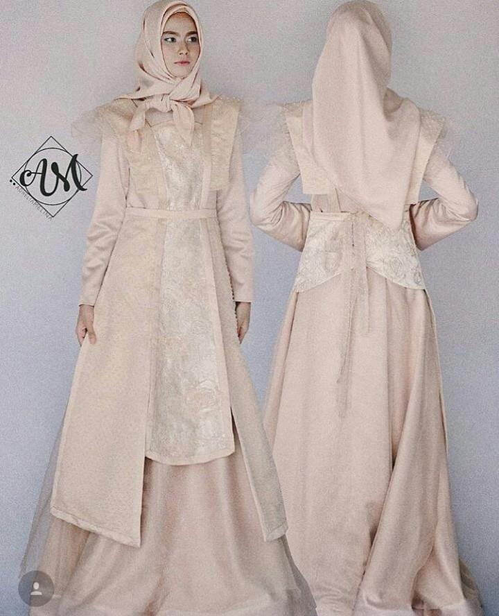 [SEWA] BROMANTIC - Apron modification inspired by Letty Lynton gown from 1932 LOOK 3 - Sewa Gaun Pernikahan Muslimah Vintage Rustic - Dress Pesta