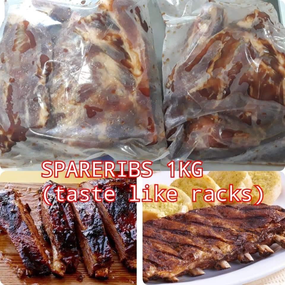 Spare ribs 1kg taste like Racks! on Carousell
