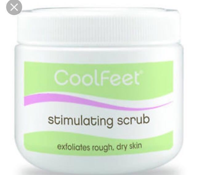 Stimulating scrub by natural Look 600g with peppermint and tea tree