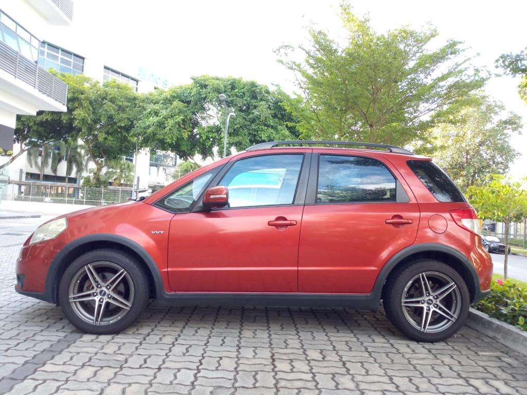 Suzuki SX4 1.6A Grab Gojek Ryde Tada & Non PHV Car Rental!