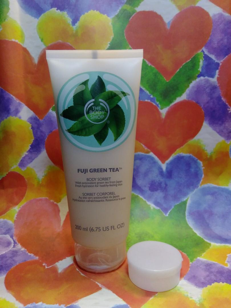The Body Shop Fuji Green Tea Body Sorbet share in jar 5gr (2514)