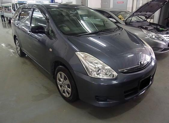 Toyota Wish for Rent