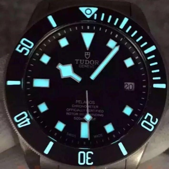 Tudor pelagos men's watches titanium Rolex omega tagheuer tissot seiko breitling panerai sevenfriday