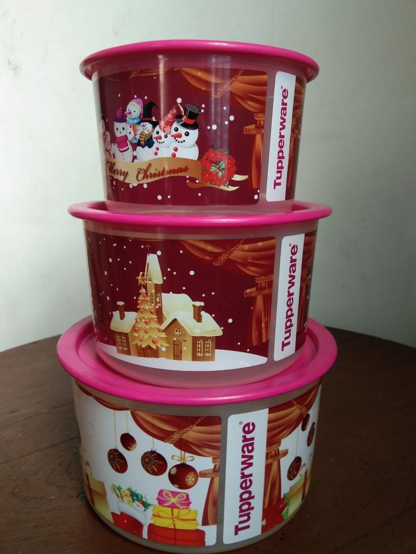 Tupperware Snack Store Christmas Edition