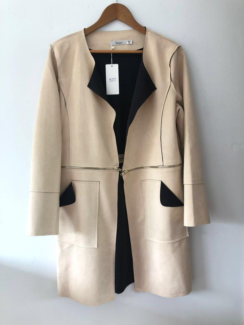 TWO WAY SUEDE JACKET