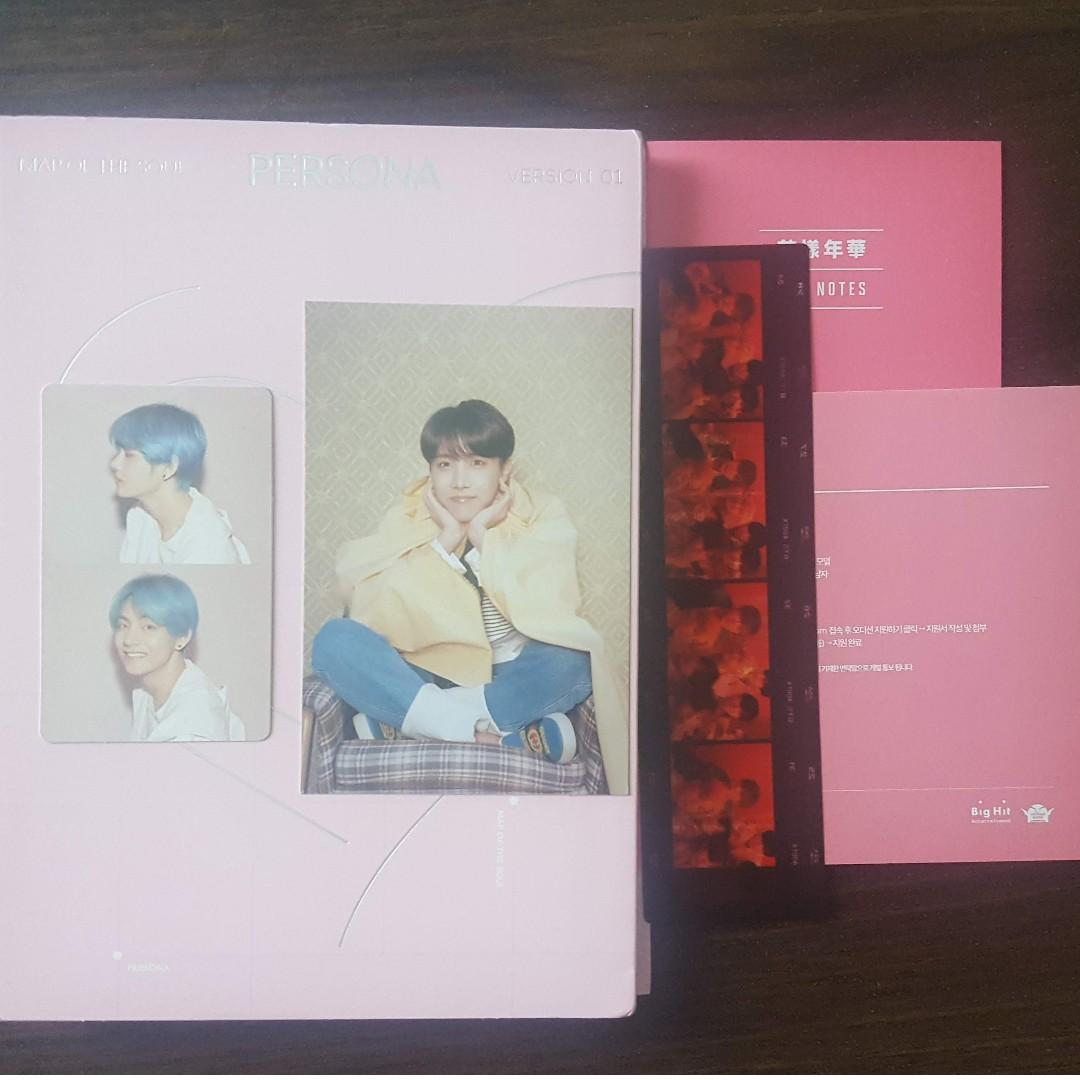 [UNSEALED] BTS MAP OF THE SOUL PERSONA ALBUM VERSION 1