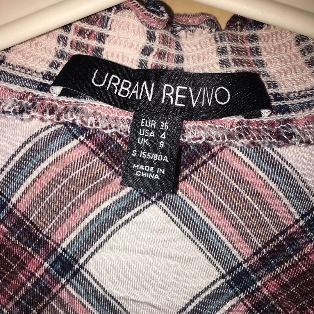Urban Revivo Tartan Blouse
