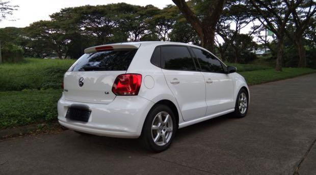 VW Polo 1.4 AT 2012 Service Record