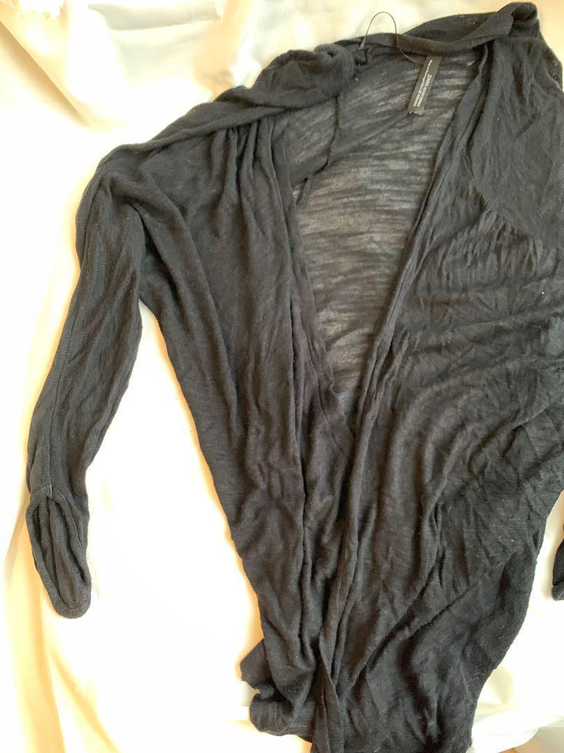 Zara 黑針織外套
