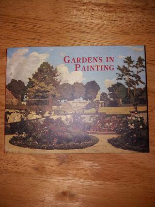 Gardens in painting booklet ( 1 set )