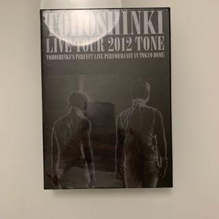 Tohoshinki 東方神起 TVXQ - Live Tour 2012 -TONE- (DVD) (2-Disc)