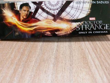 MARVEL Doctor Strange set of 4 pin badges