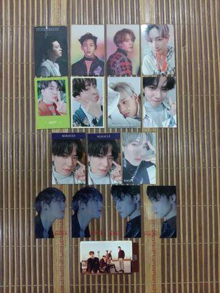 GOT7 JUS2 OFFICIAL Photocards