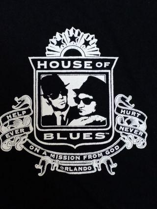 """House of Blues' band tee"""""""
