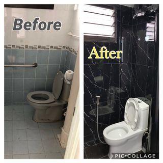 hack and tile job