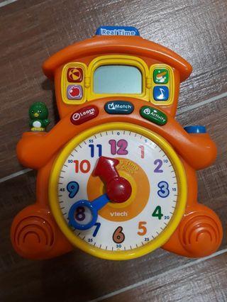 Vtech learning clock