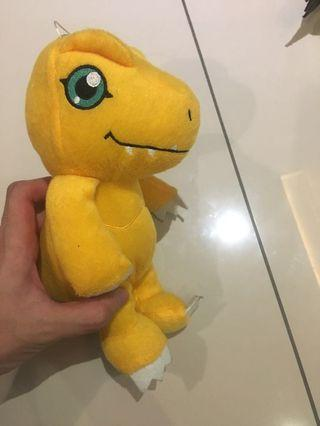 Digimon - agumon doll