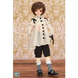 Volks DP41 bjd outfits リボンチュニックブラウスセット MSD size
