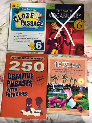 Assorted Assessment books