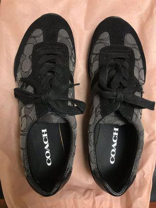 Coach shoes 正品