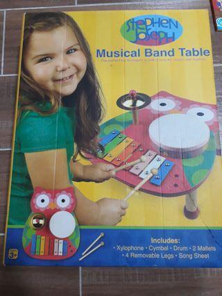 Stephen Joseph Musical Band Table