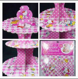 🚚 $10* BNIP Hello Kitty 3 Tier Cupcake Stand