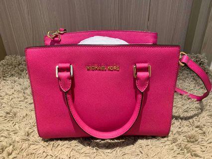 Michael Kors Bag 螢光粉紅包