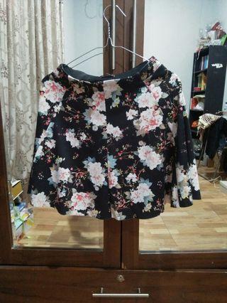 Skirt flowery