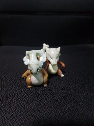 Pokemon Figurine - Cubone Evolution Set