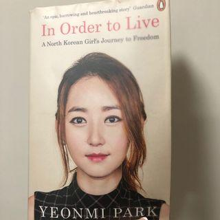 In order to live 英文小說