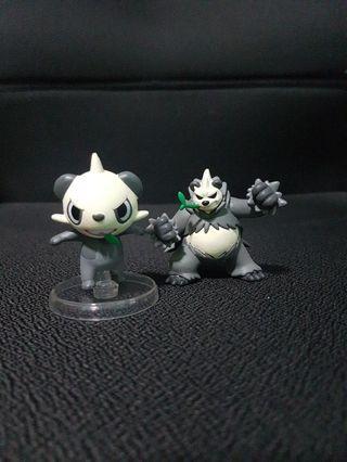 Pokemon Figurine - Pancham Evolution Set