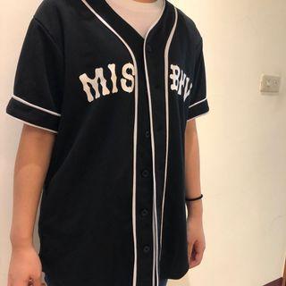 🚚 棒球短袖罩衫