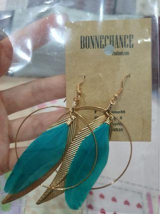 Feather Leaf Earrings