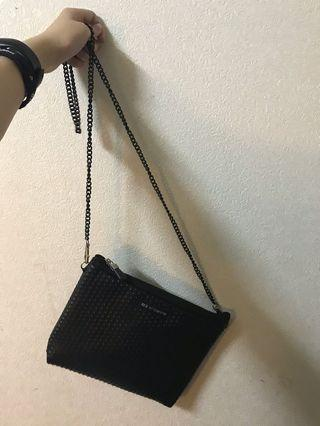 泰國 BKK包 鏈包 黑色 小包