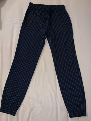 Mango Casual - Stripe Pants