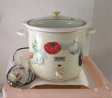 Electric Slow Cooker 6.1 Litres