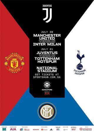( Sale ) 8x Manchester United vs Inter Milan ICC 2019