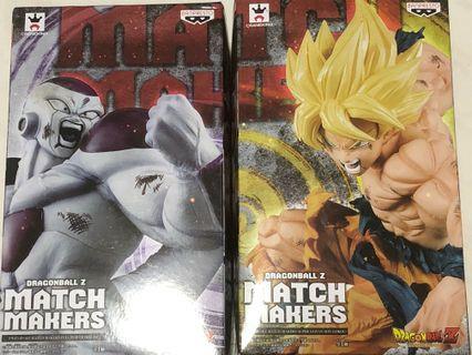 Dragon Ball Z Match Makers 龍珠 悟空 菲利 Figure Set 日版
