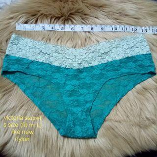 Victoria secret cyan panty usa bundle