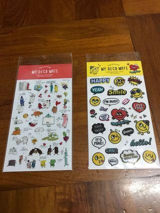 韓國 Artbox 貼紙