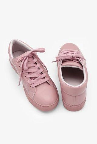 Mel & Molly Lizz Sneakers in Dust Pink