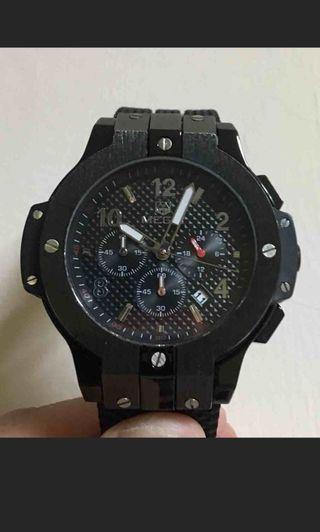 ✨ MEGIR男士腕錶,運動石英矽膠手錶✨