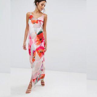 Every Cloud Poppy Printed Maxi Dress