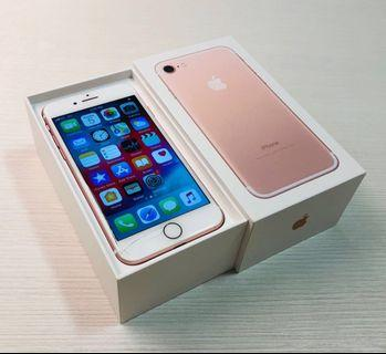 Display Cracked fully functional iPhone 7 Rose Gold 128GB